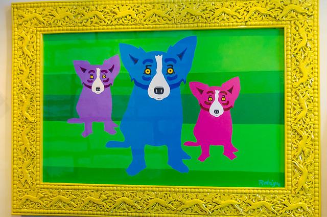 George Rodrigue Gallery - Dog Friendly Carmel