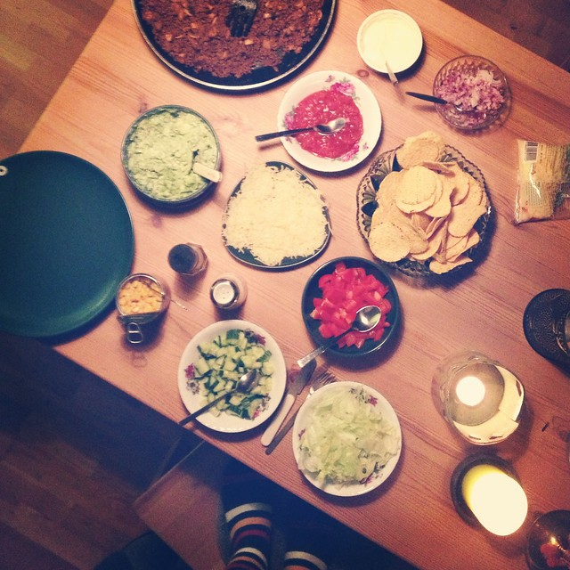 movie time: taco dinner, helsingborg