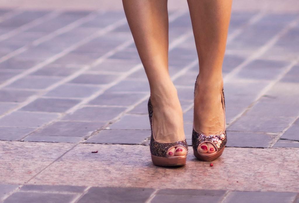 cute & little blog | menbur sequin glitter heels