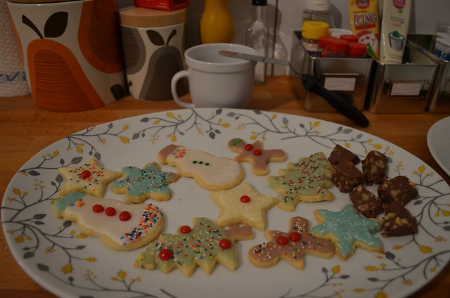 Christmas in January cookies