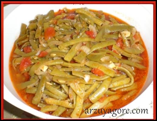 zeytinyağlı taze fasulye-1