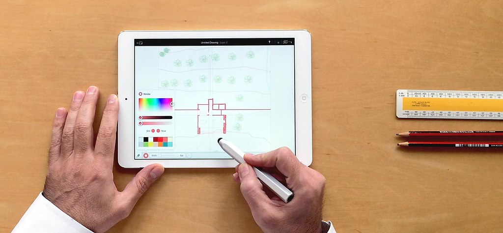 Archipad For iPad: 'Sketch And Doodle To Scale'