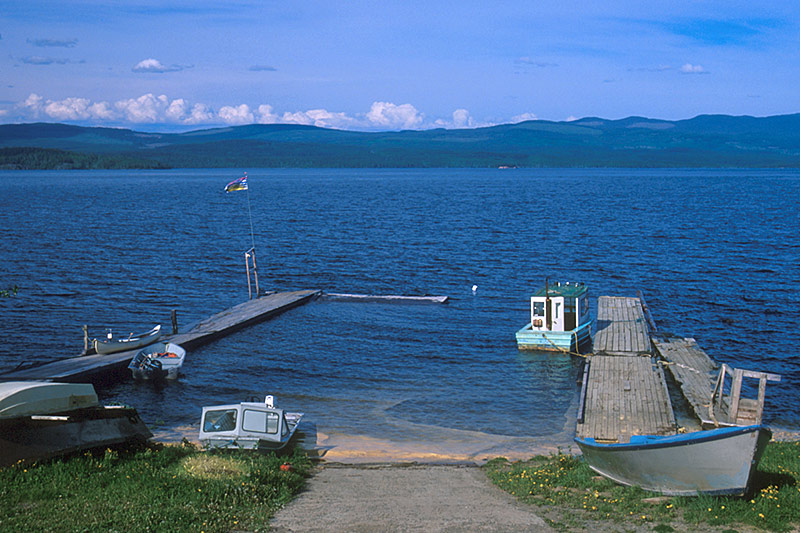 Granisle, Babine Lake, Northern British Columbia, Canada