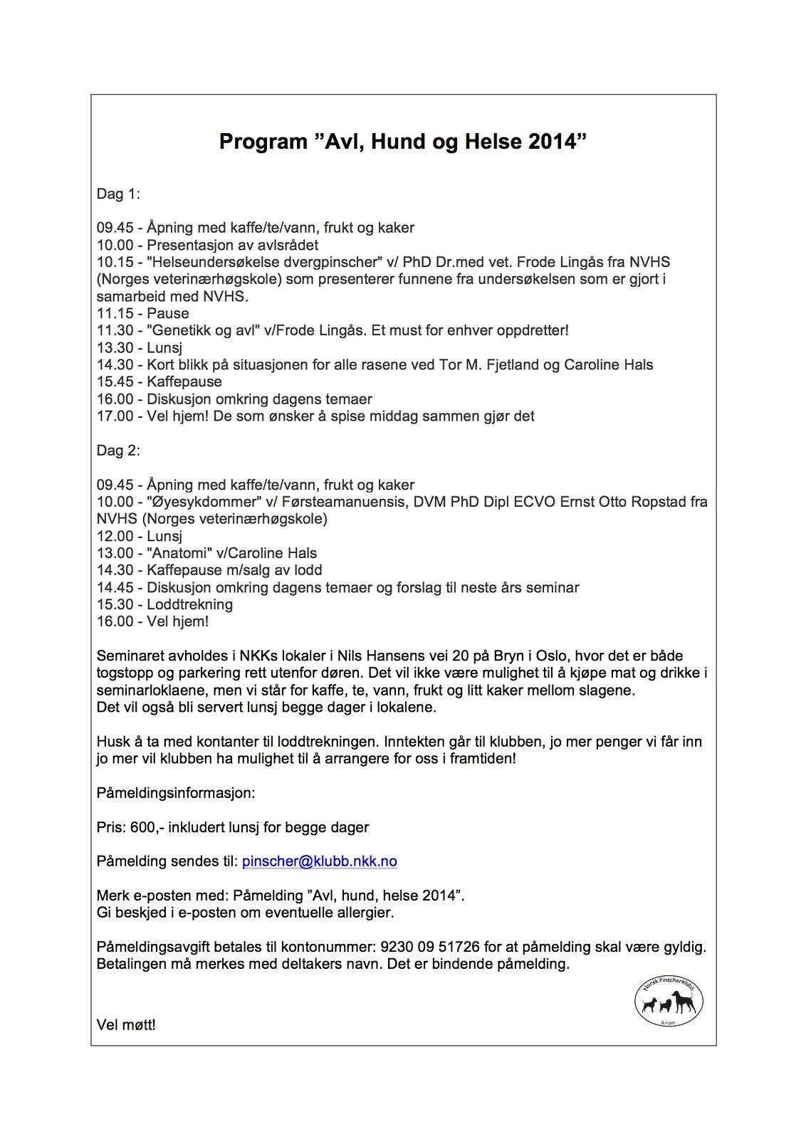 """Velkommen til NPK seminaret """"Avl, hund, helse"""" 22. og 23.mars 2014 12432930024_5cc7f46bcf_h"""
