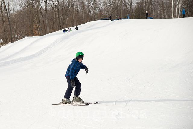 第一个滑雪日!