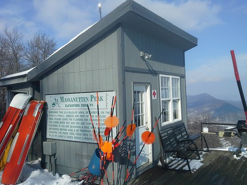 Ski Patrol shack, Massanutten summit