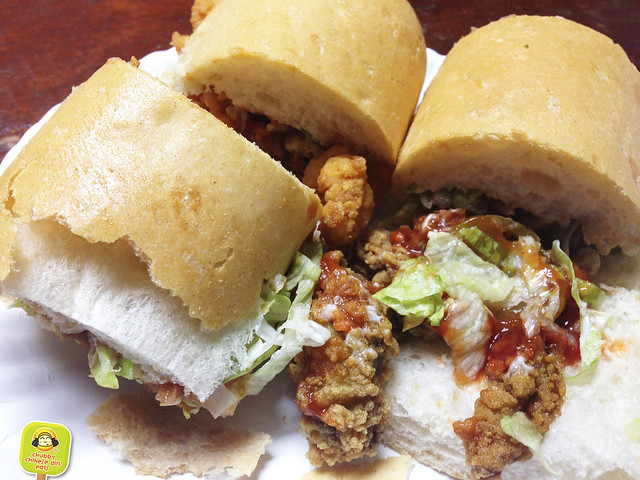 Domilise's - oyster and shrimp po'boy