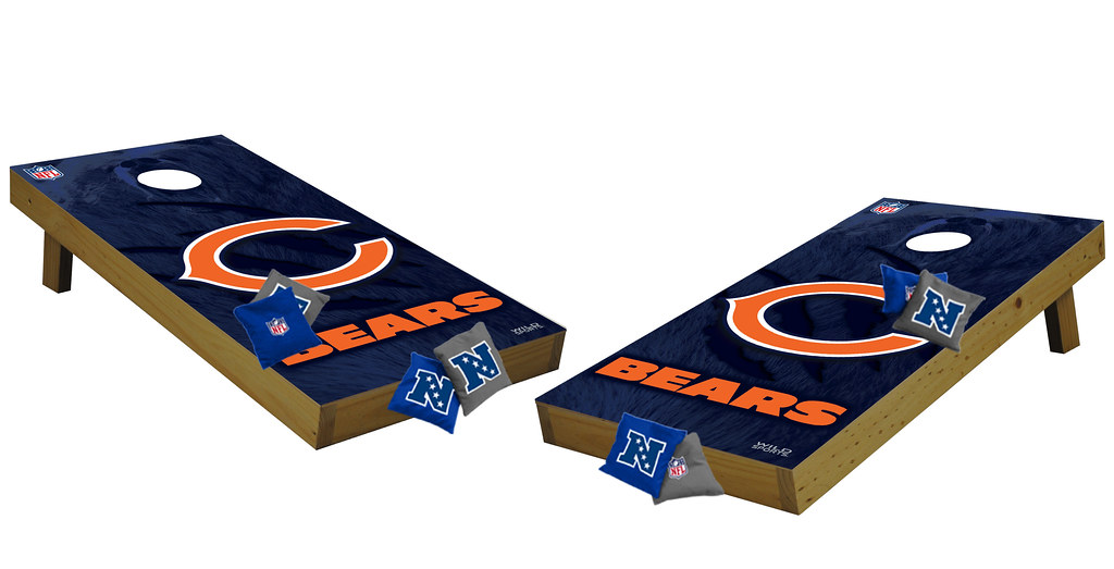 Chicago Bears Premium Cornhole Boards
