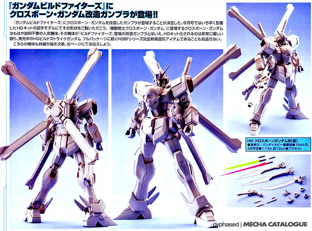 HGBF Crossbone Gundam (Something?)