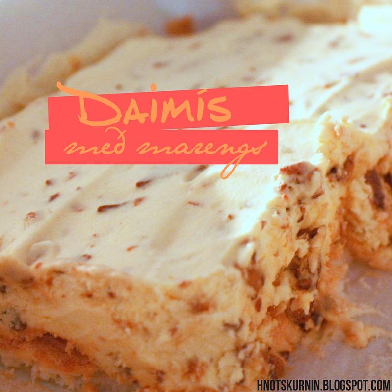 Daimís með marengs