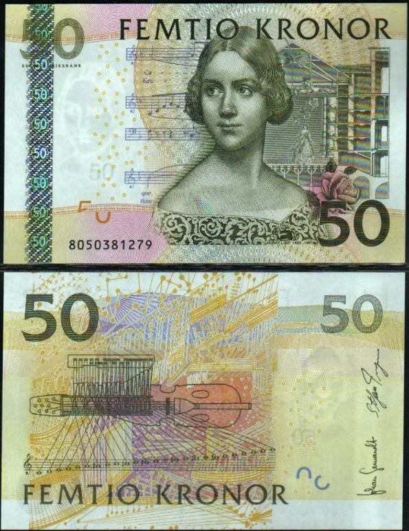 50 Korún Švédsko 2004-11, Pick 64