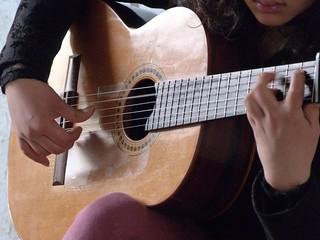 Guitarra en Sevilla