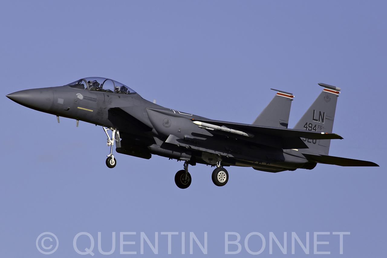 USAF McDonnell Douglas F-15E Strike Eagle LN 91-320