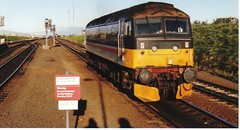 47492 IO at DUNDEE 1989 before BASH to EDINBURGH ...