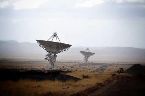 Very Large Array Radio Telescope, New Mexico