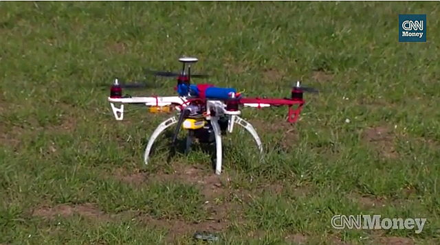Dron hacker CNNMoney