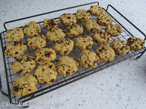 ©Tatortknabberei Kekse auf Rost