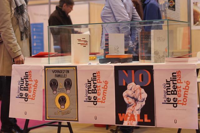 Le jour où le mur de Berlin n'est pas tombé - Salon du Livre de Paris 2014
