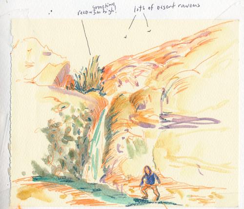 March 2014: Israel - Dead Sea - En Gedi