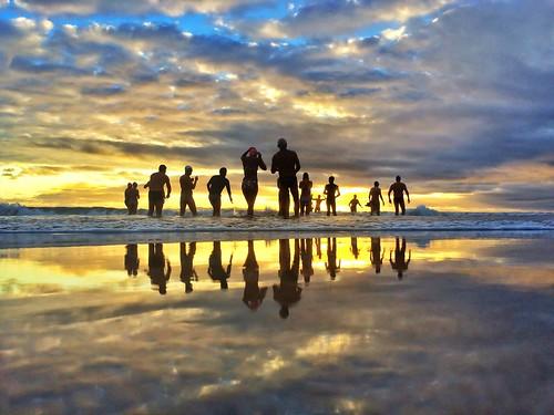 beach silhouette sunrise australia nsw cronulla 365project iphoneography