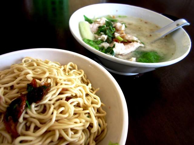Wan Li noodle & soup set