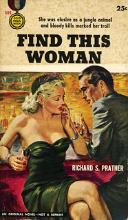 Gold Medal Books 489 - Richard S. Prather - Find This Woman
