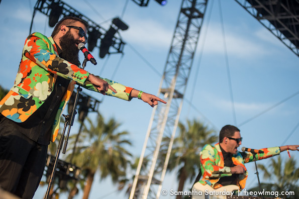 Capital Cities @ Coachella 2014 Weekend 2 - Saturday