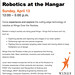 Robotics at the Hangar
