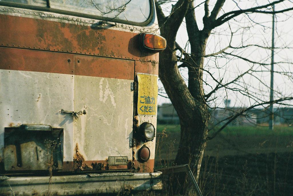 函館市バスの廃バス