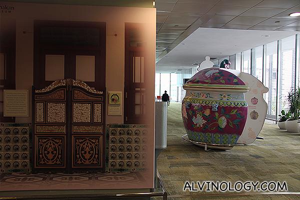 Peranakan Museum installation