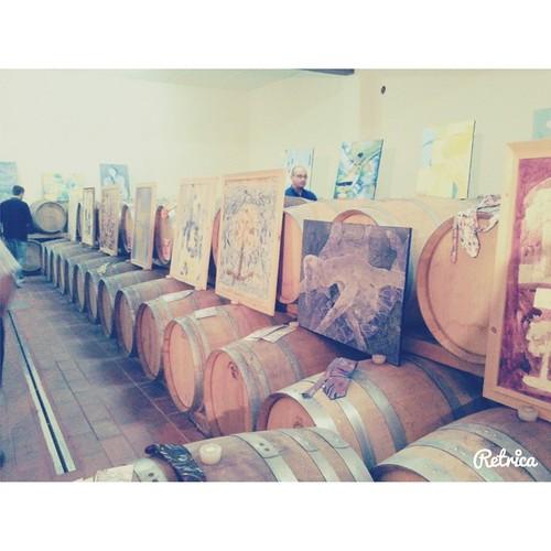 #Bosco #nocciano #wine #vino #winelover #retrica #igersitalia #igerspescara #cantineaperte #cantine #botti #italianwine