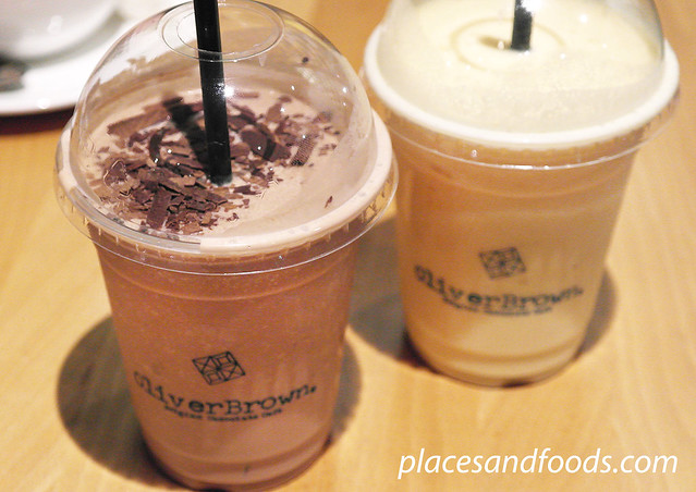 oliver brown iced chocolate and mocha