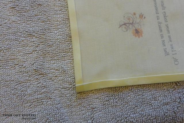 Wedding Handkerchief - Corner (1)