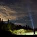 A cloudy night sky by (Nicole)
