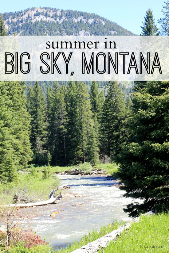 Hi Sugarplum | Summer in Big Sky, Montana