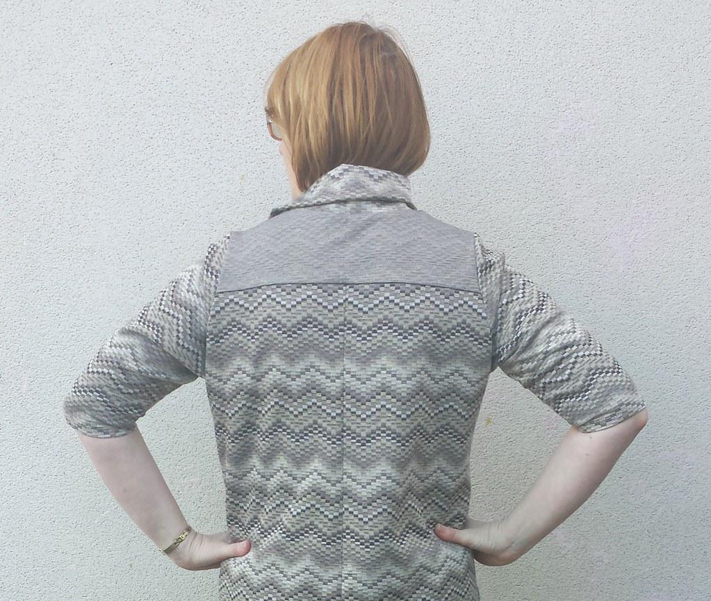 Lekala 4393 knit dress