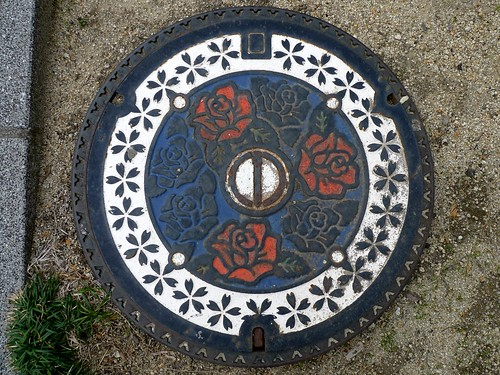Neyagawa Osaka, manhole cover 2 (大阪府寝屋川市のマンホール2)