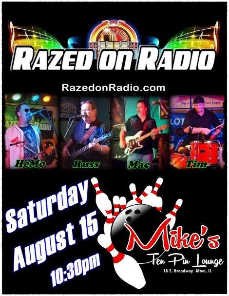 Razed On Radio 8-15-15