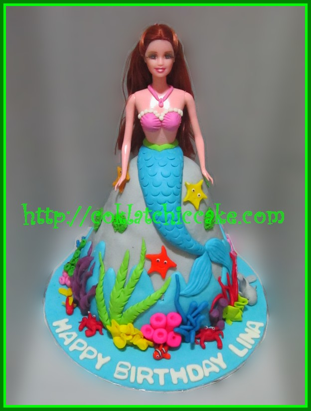 Cake Little Mermaid
