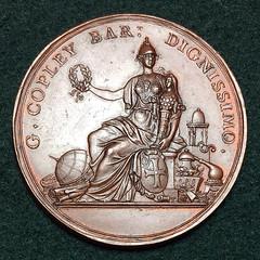 Copley medal obverse
