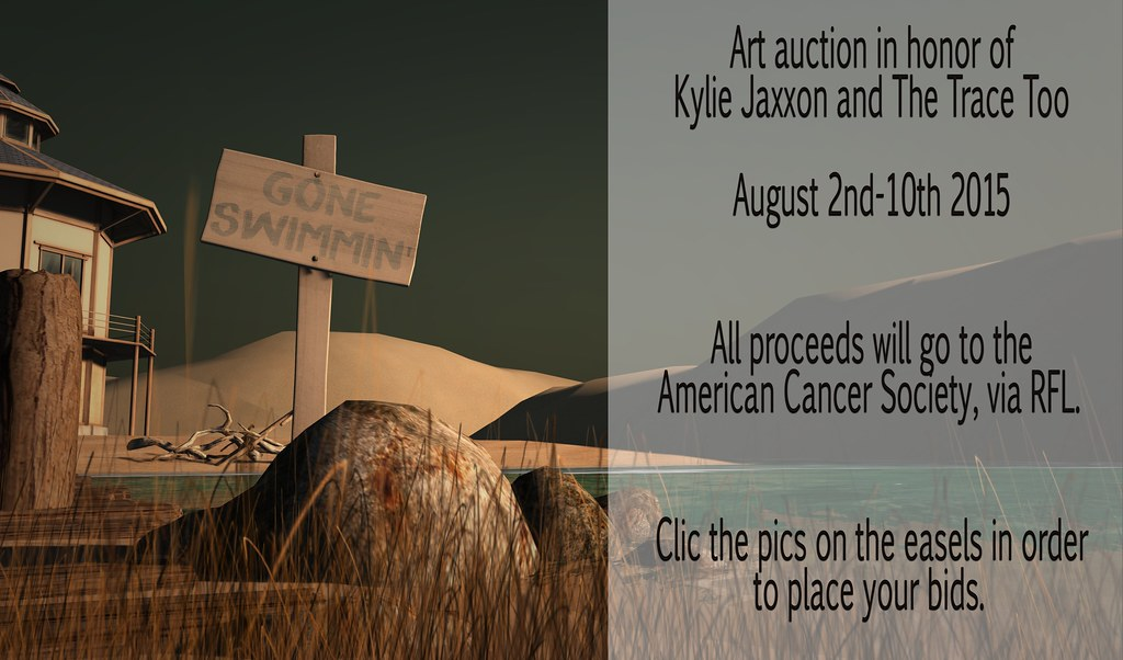Art Auction in honor of Kylie and The Trace too