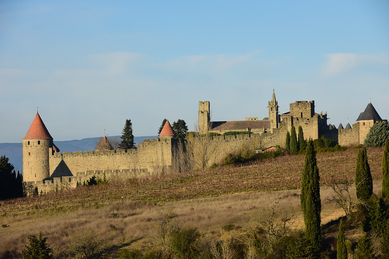 Carcassonne, Languedoc-Roussillon, January. 2017 472