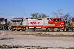 BNSF 788 | GE C44-9W | BNSF River Subdivision
