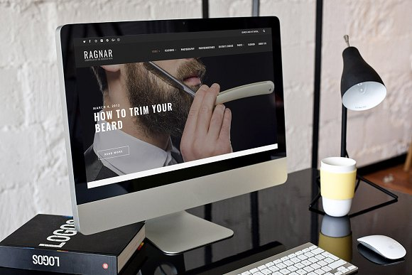 Ragnar v1.0 - WordPress Blog Theme