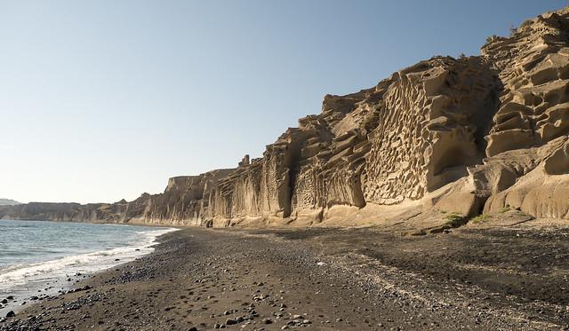 Vlichada beach in Santorini