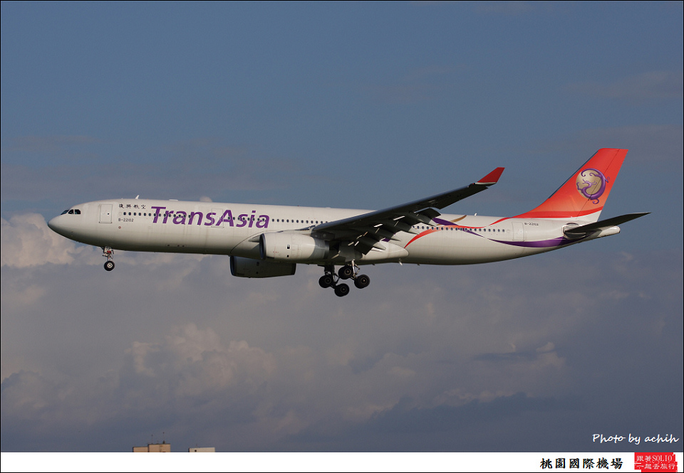 TransAsia Airways B-22102-002