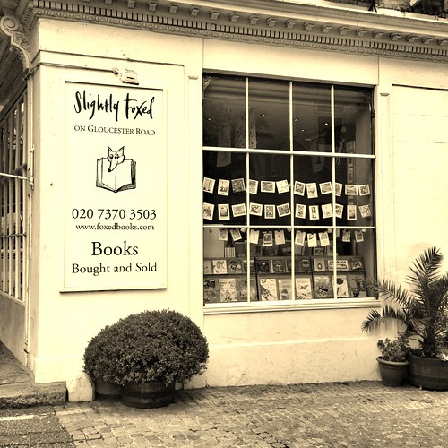 Slightly Foxed bookshop
