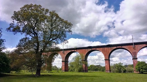 Twemlow viaduct, near Holmes Chapel, Cheshire. by Raven Photography by Jenna Goodwin