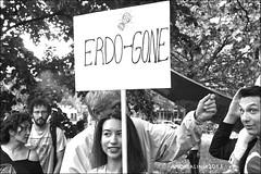 demonstration in solidarity...