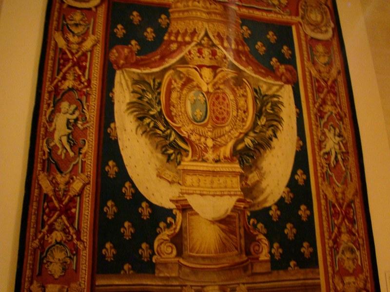 The Met Fleur de Lis tapestry
